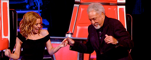 The Voice - Kylie and Tom