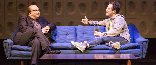 Paul Chahidi and Joshua McGuire in Privacy Photo by Johan Persson