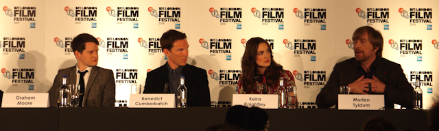 Imitation Game Press Conference