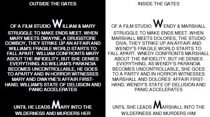 The Drowned Man Synopsis