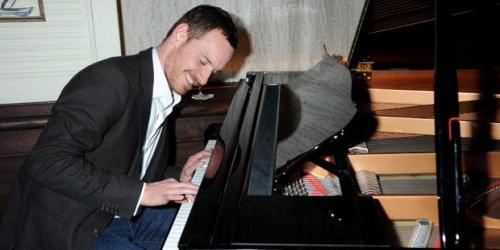 Michael Fassbender Pianist