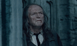 David Bradley as Argus Filch